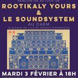 Conférence Histoire du sound system 3 fevrier 2015