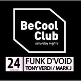 MARK J @ BECOOL BARCELONA (warmup for TONY VERDI & FUNK D'VOID)