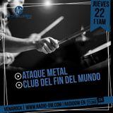 Venarock con Ataque Metal y El Club Del Fin Del Mundo