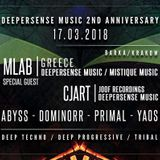 Deepersense music 2nd Anniversary || mlab @ barka - Krakow - Poland 17 March 2018