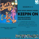 Keepin On ' .....  performed live by Invisible Friend / Kind Recordings