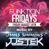 Funktion Fridays @ OTH WPB 8.14.15_Special Guest JUS.TEK