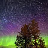 Aurora Star Trail
