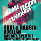 GabeeN @ We Are Techno , Club Experience,Sopron 19-01-2013