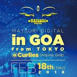 2016.02.18 YUTA@MATSURI DIGITAL in GOA,Curlies