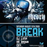 Mr. Brown LIVE @ Theory Feat. BREAK (uk)
