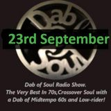 Dab of Soul Radio Show 23rd September 2019 - Top 7 from Mick (Coops) Cooper