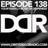 Dirty Disco Radio 138, Mixed & Hosted by Kono Vidovic.