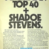 American TOP 40 with Shadoe Stevens, 20th of July, 1991, taped from Radio One, Finland, part 1