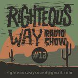 RIGHTEOUS WAY #12 / KOSMIK selection