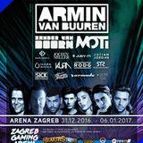 Armin van Buuren - Live @ Arena Zagreb (Zagreb, Croatia) - 31.12.2016