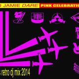 Jamie Dare - Pink Celebration dj mix 2014