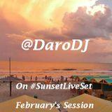 @DaroDJ on #SunsetLiveSet 12-02-2013  February Session