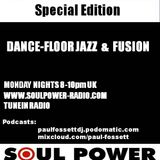 The Jazz Dance Session with Paul Fossett on www.soulpower-radio.com