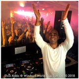 ELVIN ADDO live at Windsurf World Cup Sylt | 06 October 2018