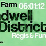 Sandwell District aka Regis & Function @ Animal Farm, Sub Club - Glasgow, Scotland (06.01.2012)