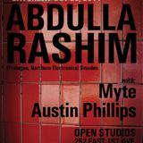 Live @ Subversive Presents: Abdulla Rashim