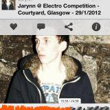 Jardin // LoveElectro - Courtyard, Glasgow - 29/1/2012