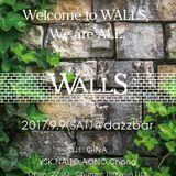 WALLS with Gina LIVE on 170909( Chang AONO GINA YSK NAITO)