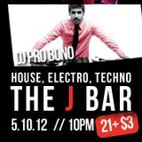 DJ Pro Bono Live @ J Bar