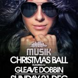 Musik Christmas Ball @ Thompsons 21-12-14 feat Gleave Dobbin