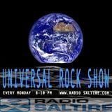 UNIVERSAL ROCK on RADIO SALTIRE - MONDAY 12th NOVEMBER 2018 with MITCH STEVENSON