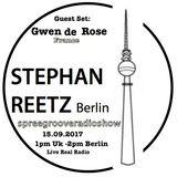 Spreegroove 15.09.2017 Guest : Gwen de Rose - France - Stephan Reetz on MGR -London