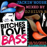 DJ SILVA B - BITCHES LOVE BASS JACKIN HOUSE MIX 18 10 2015