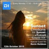 Sunset Emotions Episode #004 With Sunset Moments And Kevin Holdeen (12th October on di.fm)