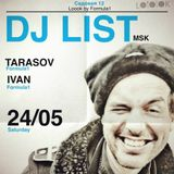 DJ List live@LOOOK cafe (24:05:2014)