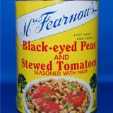 Black Eyed Peas & Stewed Tomatoes
