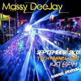Massy DeeJay - TechTrance Vibes September 2K13
