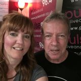 Mike Ritchie as guest on Diana Schad's Night Nurse show at Pulse 98.4fm 23rd May 2018