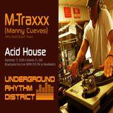 Manny Cuevas aka DJ M-TRAXXX 'Live' on WPRK 91.5 FM, Orlando 'Underground Rhythm District' 9-17-16