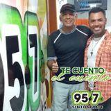 """Entrevista Programa """"Te cuento el cuento"""" con Agustín Poleo sec. Contacto Visual Sintonízate 95.7FM"""