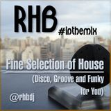 RHB - Fine Selection of House (Disco, Groove and Funky for You)
