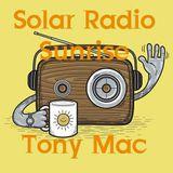 Tuesday Morning with Tony Mac on solar Radio Sunrise 31st July 2018