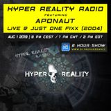 Hyper Reality Radio 112 – Aponaut Live @ Just One Fixx, Toronto (2004)