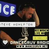 Steve Howerton - Live on DanceGruv Radio 10_20_19 REAL HOUSE MUSIC!!!