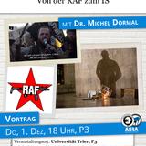 Dr. Michel Dormal: Der alte und der neue Terror. Von der RAF zum IS (1. Dezember 2016)
