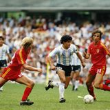 Mexico 86' - Semifinal Argentina - Bélgica