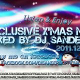 Exclusive X'mas Mix@Dj Sanders