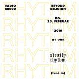 Beyond Religion Nr.41 - Strictly Rhythm
