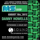 Danny Howells - Live at Monday Social, Sound Nightclub (18-08-2013)