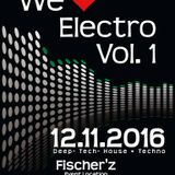 Marco Bänder - We Love Electro Vol. 1 ( Fischerz  ) Liveset 12.11.2016