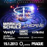 W&W - Live @ The Spiritual Gateway Transmission Prague (Czech Republic) 2013.01.19.
