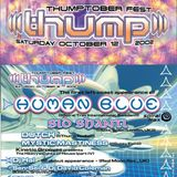 Human Blue  Live @ (((Thump))) party (12.10.2002)