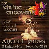 Viking Groovers November Monthly Exclusive DJ Mix 2018 Antoni James