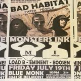 Bad Habit with Monsters Ink Dual CD Release Guest's:  Eminent - Load B - Boosen - UGS Productions