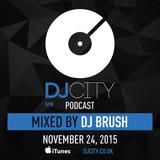 DJ Brush - DJcity UK Podcast - 24/11/15